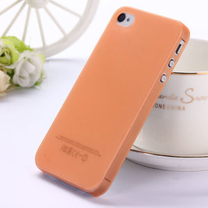 0.3mm Ultra thin matte Case cover skin for iPhone 5 5S - Gifts Leads