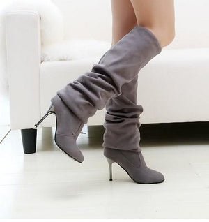 Womens High Heel Boots Over the Knee High Boots