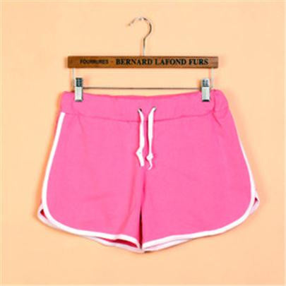 Hot Summer Outdoor Shorts Women Casual Candy Solid 11 Colours Short Pants Ruffles Thin Plus Size Women's Fold Sports Beach