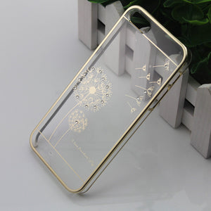1pcs For iPhone5 5s /iphone 6/6 plus Electroplating dandelion - Gifts Leads