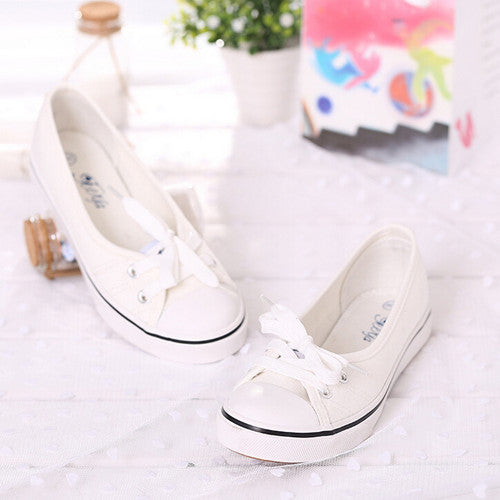 2016 Summer Shallow Mouth Woman Sneakers Comfortable