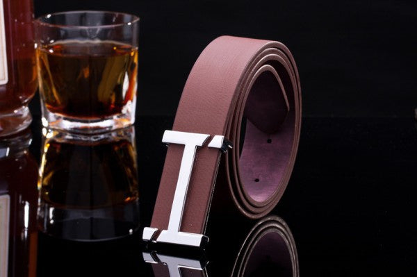 Casual women's belts fashion cowskin&pu leather belts