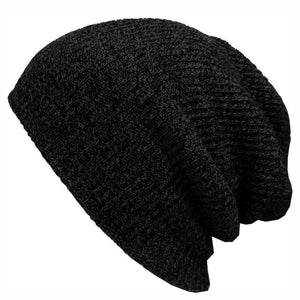 2016 Winter Beanies Solid Color Hat Unisex Plain Warm