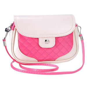 Girls Shoulder Bag Lady Messenger Candy Mixed Colors Cute Mini Shoulder Bag Crossbody Casual Tote