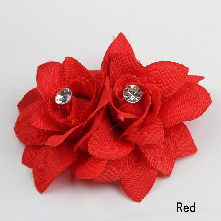 10 Colors Flower Clip Hairpin For Bridal Wedding - Gifts Leads