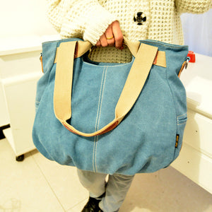2016 Canvas Women Bag Casual Women Messenger Bags designer brand Vintage Fashion Women's Crossbody Bag Shoulder handbags