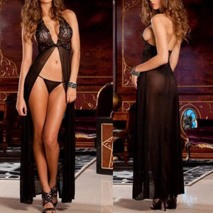 NEW Women Sexy Backless Lingerie Night Babydoll