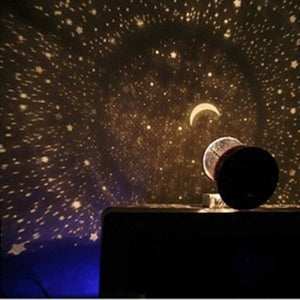 Moon Sky Romatic Gift Cosmos Star Master Projector LED Moon Night Light Lamp Powered