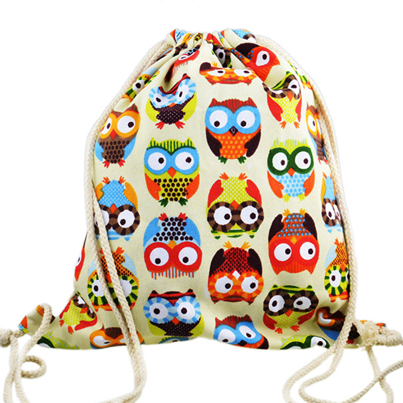 2016 3D Fashion Printed Animal Owl Pattern Cute Unisex - Gifts Leads