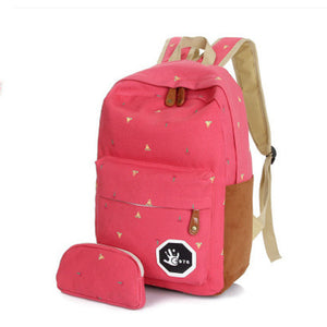 Cute Korean Style Double-Shoulder Book Bags Fashion Girls Women
