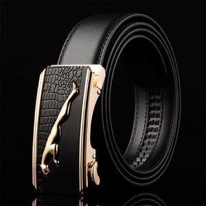 Belt 2016 designer automatic buckle Cowhide Leather men
