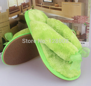Hot selling Winter Soft Sole Home Bowknot Cotton