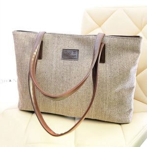 2016 Canvas Handbag Personality Contracted Large Bag - Gifts Leads
