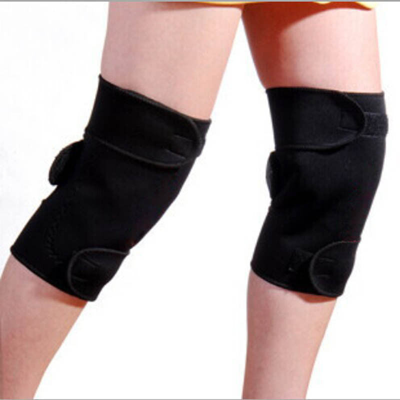 1 Pair Tourmaline Self Heating Kneepad Magnetic Therapy Knee Support Tourmaline Heating Belt Knee Massager - Gifts Leads