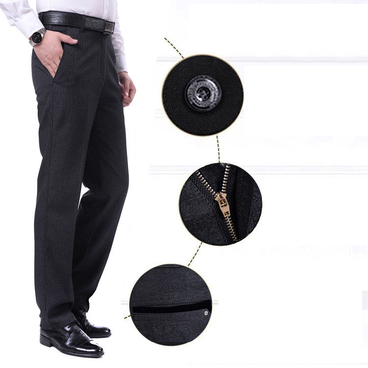 2016 Formal Wedding Men Suit Pants Fashion Slim Fit