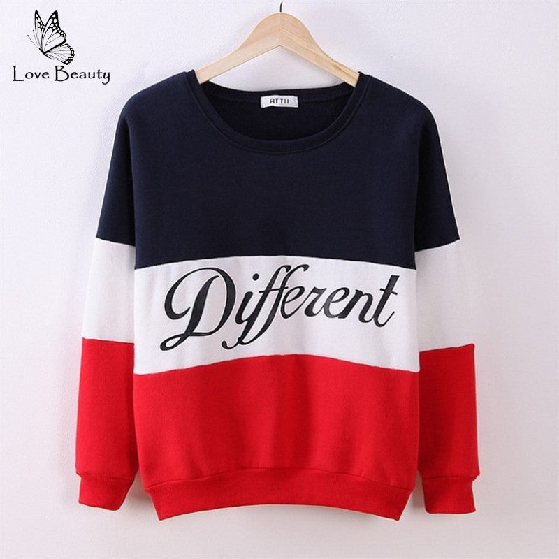2016 For Autumn New Fashion Style Letter Women