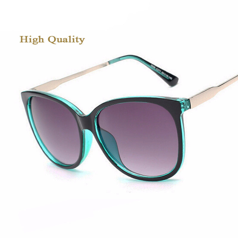 2016 Luxury Women Sunglasses Fashion Round Ladies Vintage
