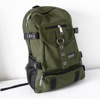 2016 new Fashion arcuate leisure men's backpack strap zipper