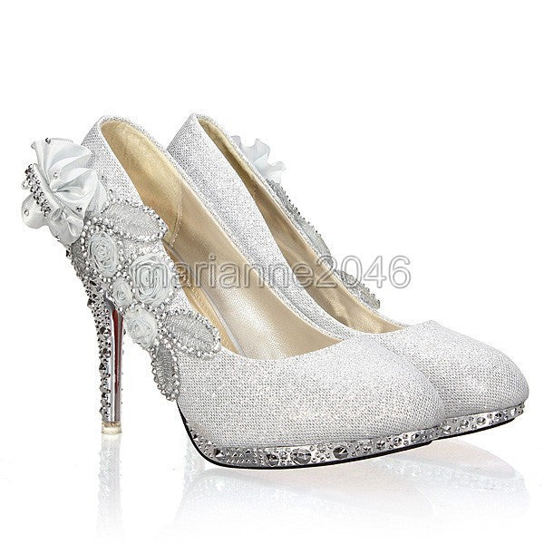 2016 New Fashion Women Girl Wedding Bridal Glitter