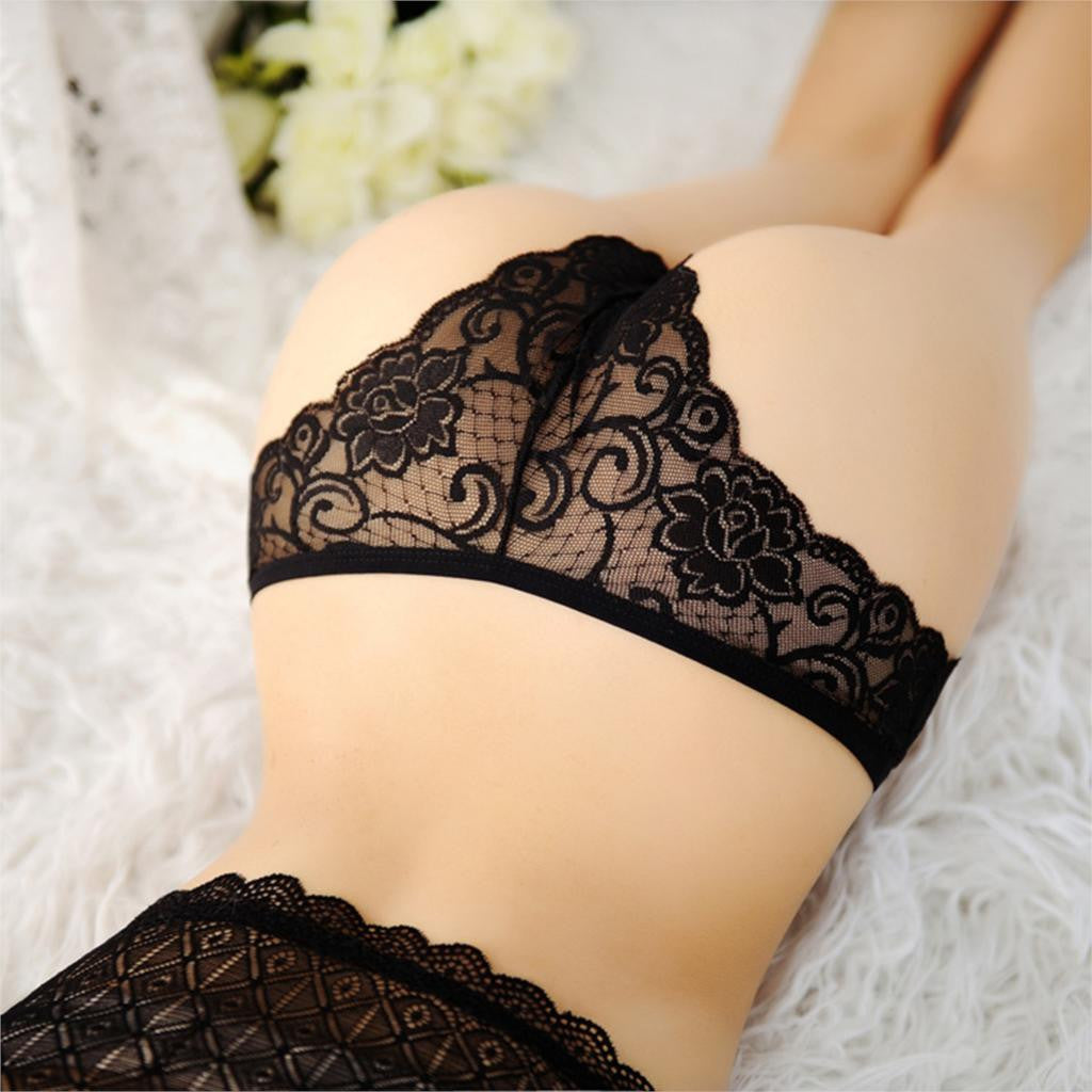 2016 Sexy Lace Women Underwear Girl Thongs Briefs