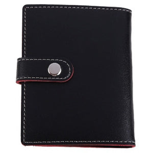 2016 Arrival Black PU Leather Business Wallet Credit Card - Gifts Leads