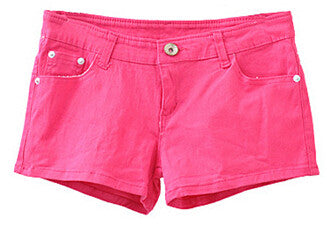 Autumn Summer Style Denim Shorts Women Fashion