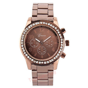 2016 Casual Watch Geneva Unisex Quartz Watches Women
