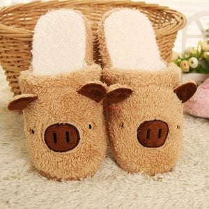 2016 Winter Cotton Indoor Slippers Slip Confinement Home