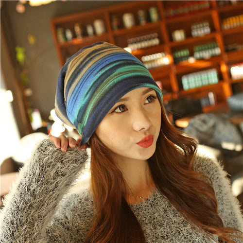 New Arrival 3 Use Hat Knitted Scarf & Winter Hats for Women