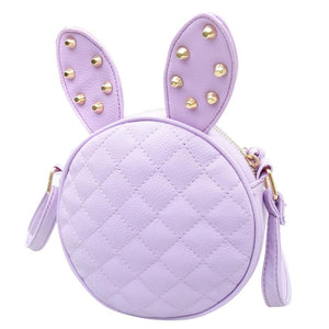 Delicate New Women Girl Summer Cute Rabbit Ear Round