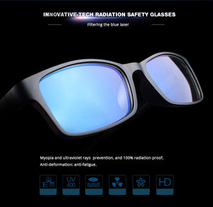 Tungsten Computer Goggles Anti Blue Laser Fatigue