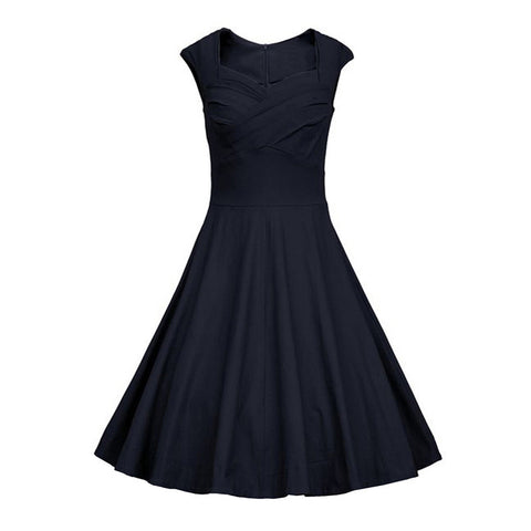 2016 Summer Women Casual Dresses Retro Party