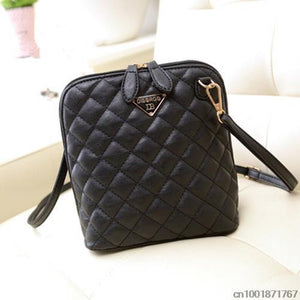 Hot selling! Women Fashion Small Shell Leather Plaid Handbag/Women Messenger Bags/Crossbody Bag