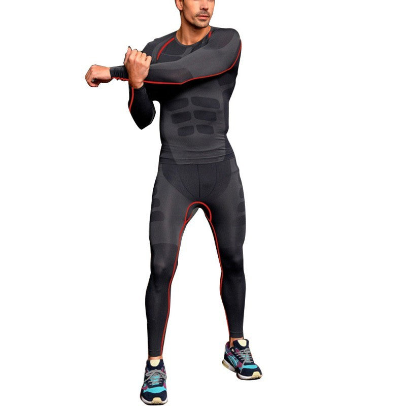 Men's Fitness Compression GYM Training Skin Base Layer