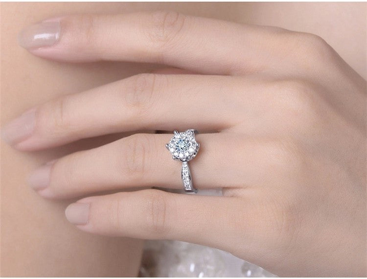 Nemest 925 sterling silver jewelry classic  romantic wedding love witness