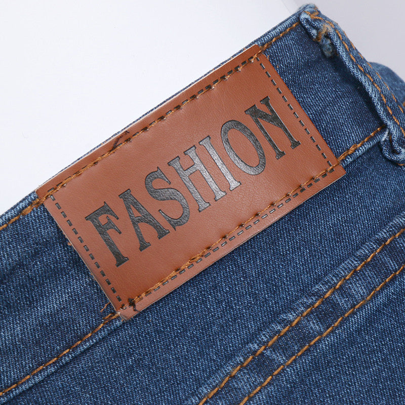 New Fashion women's jeans Summer High Waist Stretch