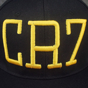 New Cristiano Ronaldo CR7 Black Baseball Caps hip hop