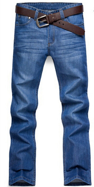 Mens Jeans Men Denim Jean masculino Regular Jeans