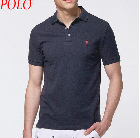 2016 Small horse LOGO  brand Polo shirt men'S match