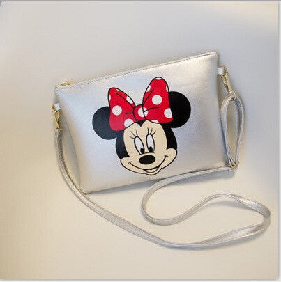 Women Messenger Bags Mickey Bag Leather Handbags