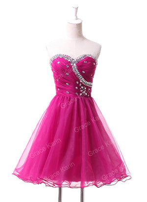 Premium Summer Women Fashion Masquerade Prom Ball Gown Special Occasion Beaded Short Cocktail Party dresses 2016 Homecoming 4503