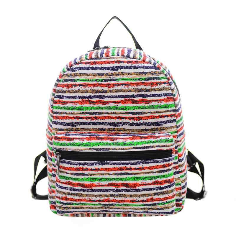 2016 New Woman Backpack Hot Sale Canvas School Bag