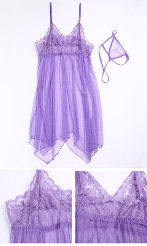 Sexy Plus Size Women Nightwear Sleepwear Babydoll