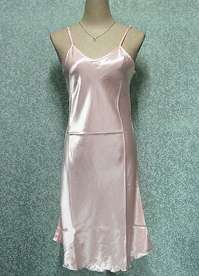 Sexy Women Satin Silk Nightie Nightdress