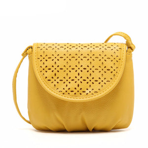 Excellent Quality 2016 Small Casual Women Messenger Bags Hollow Crossbody Bags Ladies Shoulder Purse Handbags Bolsas Feminina