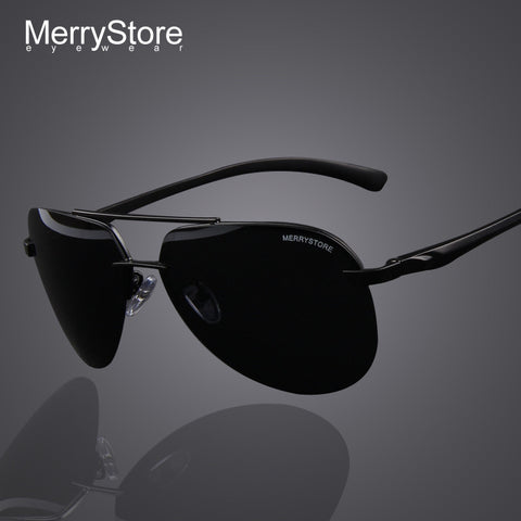 2016 New Brand Men 100% Polarized Aluminum Alloy Frame