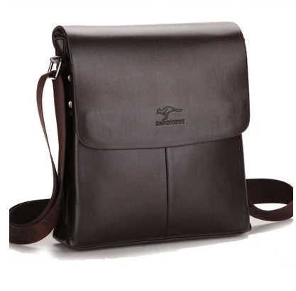Kangaroo Man Vertical Genuine Leather Bag Men