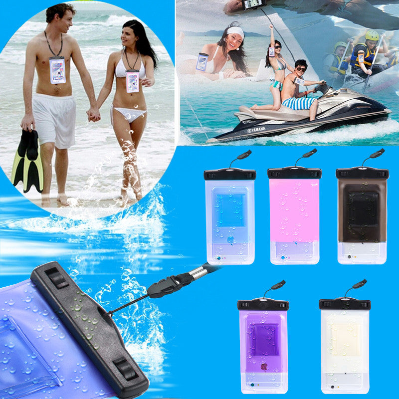 "6S 6 Plus SE 5S 5 Outdoor Sports 5.5""Universal Underwater Waterproof"