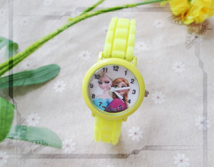 New Cartoon Children Watch Princess Elsa Anna Watches
