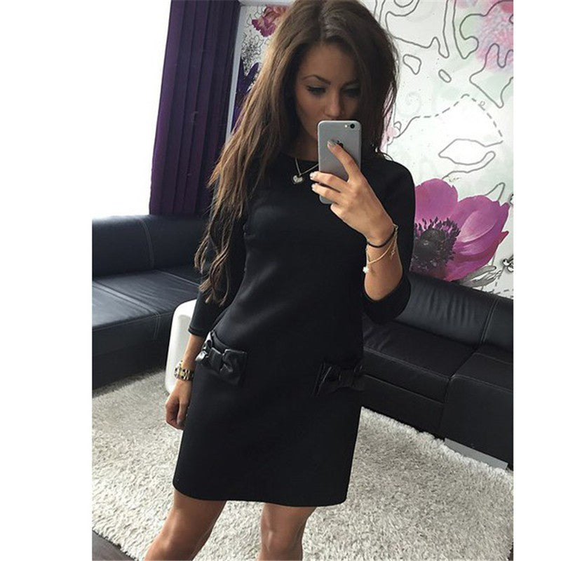 Winter Straight Casual Dress 2016 New Arrival Women